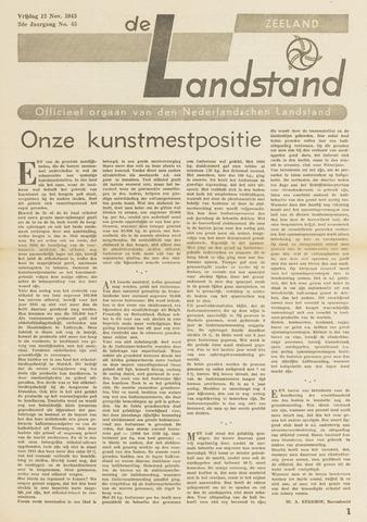 De landstand in Zeeland, geïllustreerd weekblad. 1943-11-12