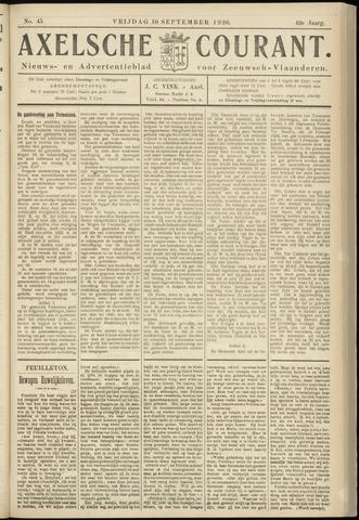 Axelsche Courant 1926-09-10