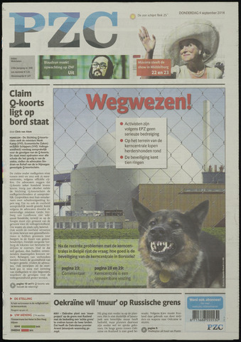 Provinciale Zeeuwse Courant 2014-09-04