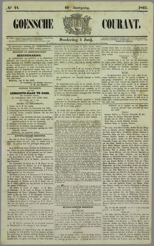 Goessche Courant 1862-06-05