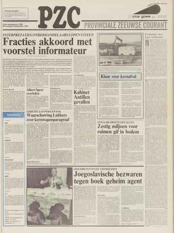 Provinciale Zeeuwse Courant 1981-09-02
