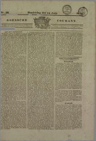 Goessche Courant 1842-07-14
