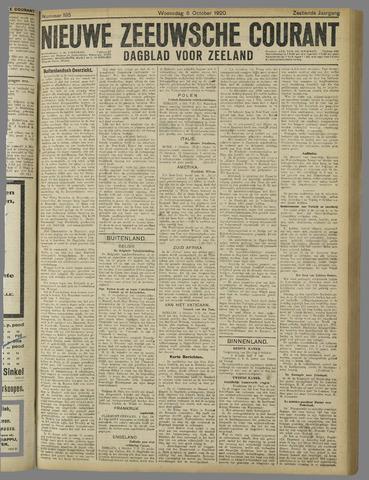 Nieuwe Zeeuwsche Courant 1920-10-06