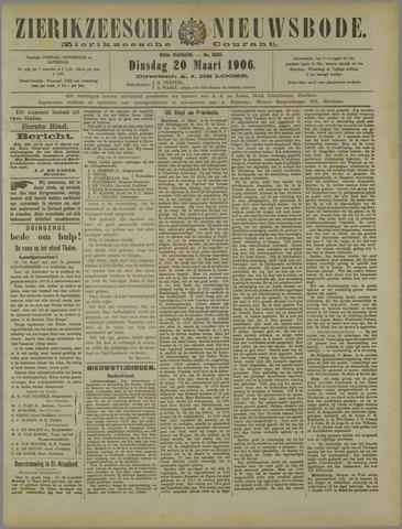 Zierikzeesche Nieuwsbode 1906-03-20