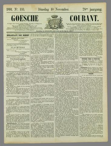 Goessche Courant 1891-11-10