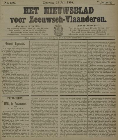 Nieuwsblad voor Zeeuwsch-Vlaanderen 1898-07-23