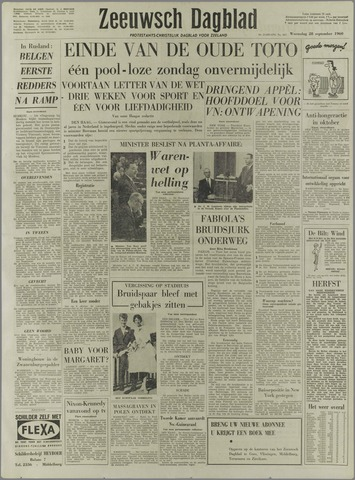 Zeeuwsch Dagblad 1960-09-28