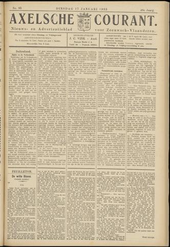 Axelsche Courant 1933-01-17