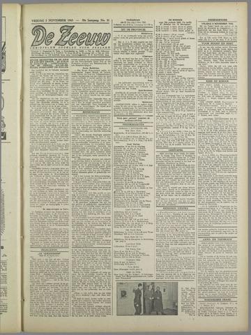 De Zeeuw. Christelijk-historisch nieuwsblad voor Zeeland 1943-11-05