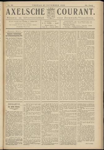 Axelsche Courant 1932-11-25