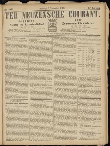 Ter Neuzensche Courant. Algemeen Nieuws- en Advertentieblad voor Zeeuwsch-Vlaanderen / Neuzensche Courant ... (idem) / (Algemeen) nieuws en advertentieblad voor Zeeuwsch-Vlaanderen 1899-11-07