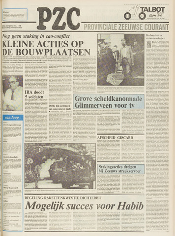Provinciale Zeeuwse Courant 1981-05-20