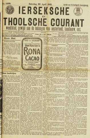 Ierseksche en Thoolsche Courant 1912-04-20
