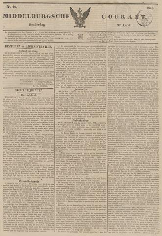 Middelburgsche Courant 1843-04-27