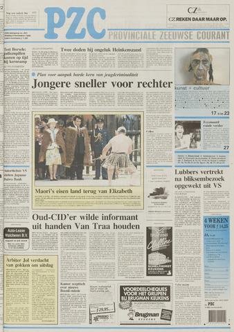 Provinciale Zeeuwse Courant 1995-11-03