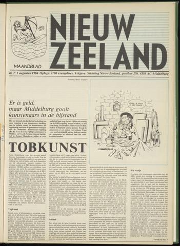 Nieuw Zeeland 1984-08-01