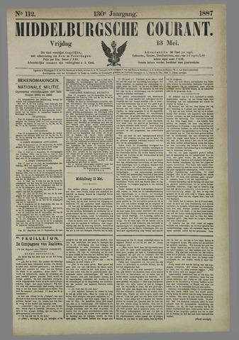 Middelburgsche Courant 1887-05-13