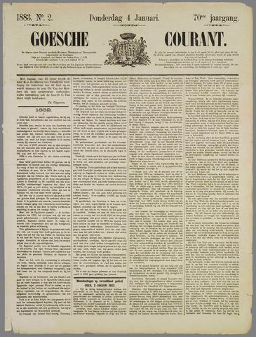 Goessche Courant 1883-01-04