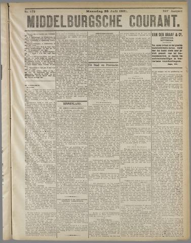 Middelburgsche Courant 1921-07-25
