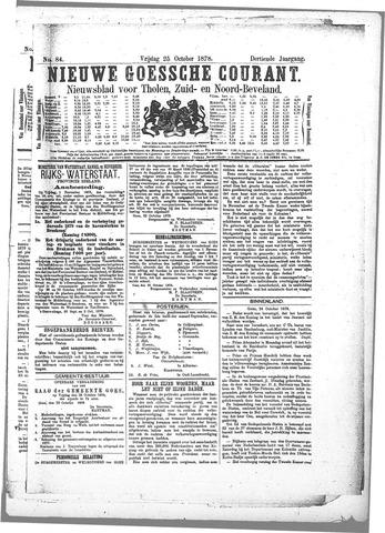 Nieuwe Goessche Courant 1878-10-25