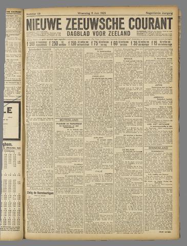 Nieuwe Zeeuwsche Courant 1923-06-06
