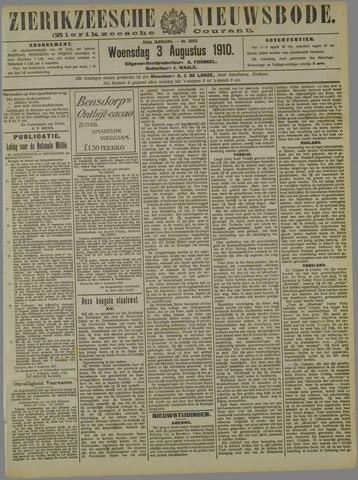 Zierikzeesche Nieuwsbode 1910-08-03