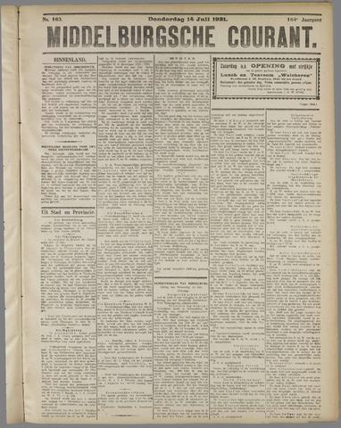 Middelburgsche Courant 1921-07-14