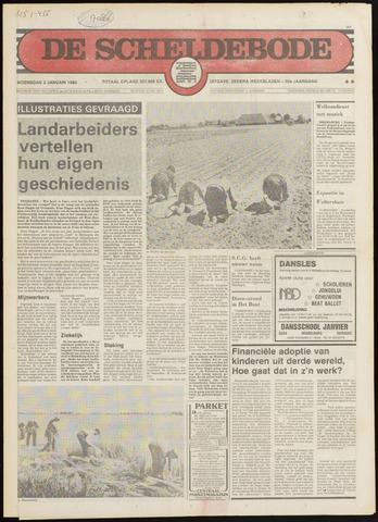 Scheldebode 1980