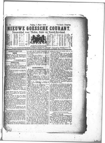 Nieuwe Goessche Courant 1879-03-07