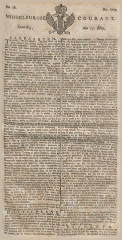 Middelburgsche Courant 1779-05-15