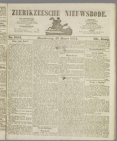 Zierikzeesche Nieuwsbode 1854-03-23