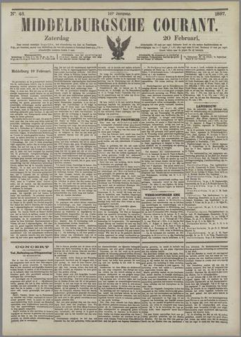 Middelburgsche Courant 1897-02-20