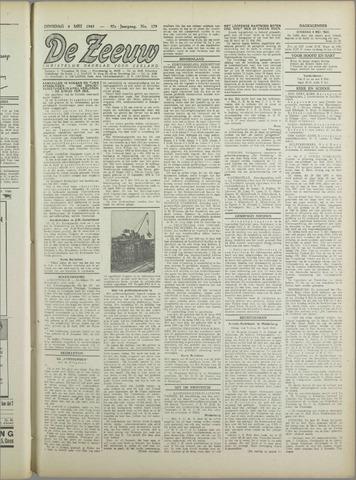 De Zeeuw. Christelijk-historisch nieuwsblad voor Zeeland 1943-05-04