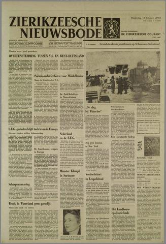 Zierikzeesche Nieuwsbode 1963-02-14