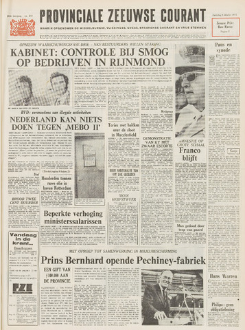 Provinciale Zeeuwse Courant 1971-10-02