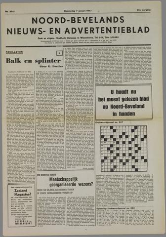 Noord-Bevelands Nieuws- en advertentieblad 1977-01-07