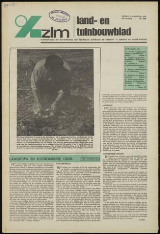 Zeeuwsch landbouwblad ... ZLM land- en tuinbouwblad 1975-08-29