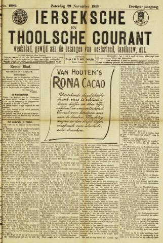 Ierseksche en Thoolsche Courant 1913-11-29