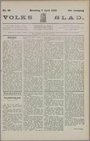 Volksblad 1923-04-07