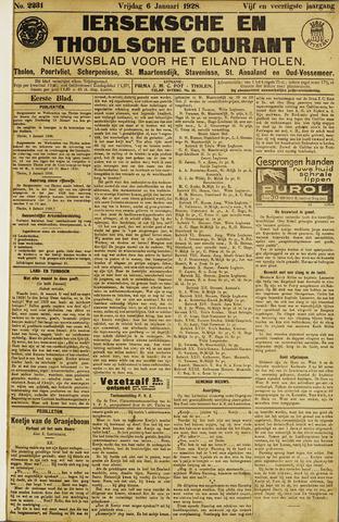 Ierseksche en Thoolsche Courant 1928