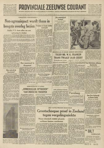 Provinciale Zeeuwse Courant 1953-10-07