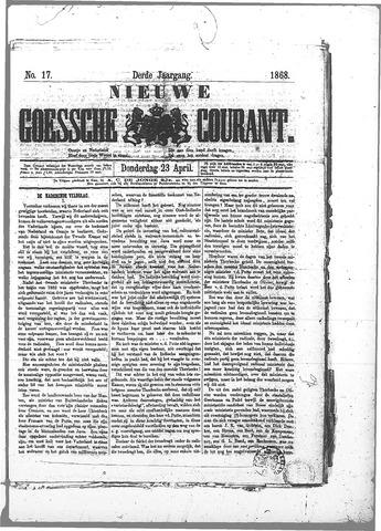 Nieuwe Goessche Courant 1868-04-23