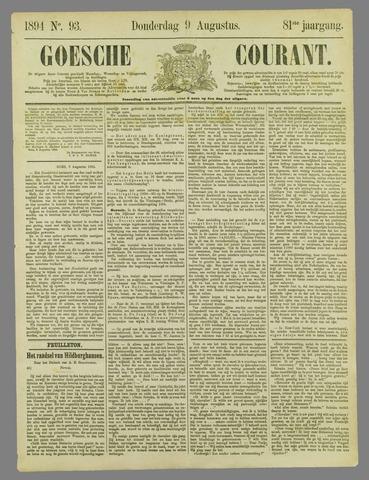 Goessche Courant 1894-08-09
