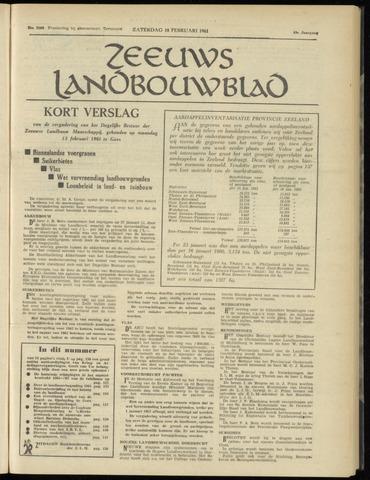 Zeeuwsch landbouwblad ... ZLM land- en tuinbouwblad 1961-02-18
