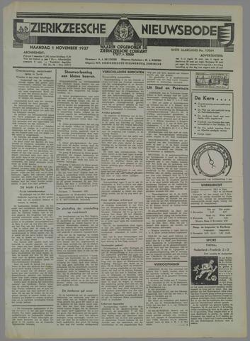 Zierikzeesche Nieuwsbode 1937-11-01