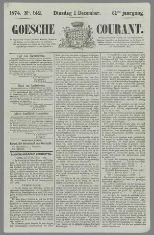 Goessche Courant 1874-12-01