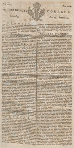 Middelburgsche Courant 1779-09-25