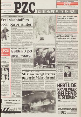 Provinciale Zeeuwse Courant 1987-01-12