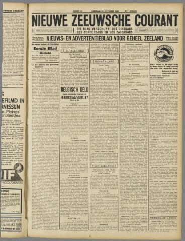 Nieuwe Zeeuwsche Courant 1930-09-20