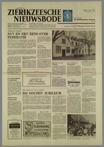 Zierikzeesche Nieuwsbode 1974-04-05
